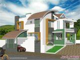 Contemporary Hillside Home Plans Contemporary Hillside House Kerala Home Design and Floor