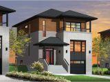 Contemporary Hillside Home Plans House Plans and Design Modern House Plans for Hillside