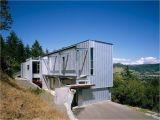 Contemporary Hillside Home Plans Modern House Design On Hillside