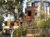 Contemporary Hillside Home Plans the Contemporary Hillside House by Sb Architects Adelto
