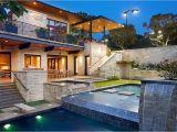 Contemporary Hillside Home Plans World Of Architecture Spirit Lake Modern Hillside Home