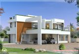 Contemporary Home Design Plans 4 Bedroom Luxury Contemporary Villa Design Kerala Home