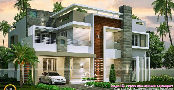 Contemporary Home Design Plans Bedroom Contemporary Home Design Kerala Floor Building