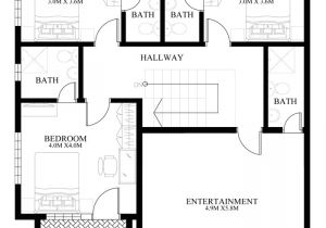 Contemporary Home Designs Floor Plans Contemporary House Design Mhd 2014011 Pinoy Eplans