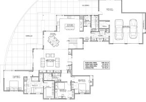 Contemporary Home Designs Floor Plans Contemporary House Plan with 3 Bedrooms and 3 5 Baths