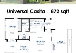 Contemporary Home Designs Floor Plans Universal Casita House Plan 61custom Contemporary