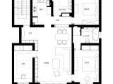 Contemporary Home Floor Plans Shanghai Apartment with Modern Minimalist Flair