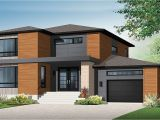 Contemporary Home Plan 2 Story House Plans Contemporary Modern House Plan