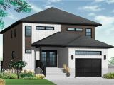 Contemporary Home Plans for Narrow Lots Modern Contemporary Narrow Lot House Plans Luxury Narrow