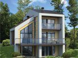 Contemporary Home Plans for Narrow Lots Narrow Lot Contemporary House Plan 80777pm