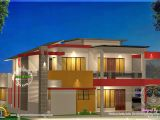 Contemporary Home Plans Free Modern 4 Bhk House Plan In 2800 Sq Feet Kerala Home