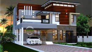 Contemporary Home Plans Kerala All About Design Sq Ft Modern Contemporary House