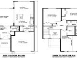 Contemporary Homes Floor Plans Modern Two Story House Plans 2 Floor House Two Storey