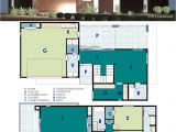 Contemporary Homes Floor Plans Ultra Modern Live Work House Plan 61custom