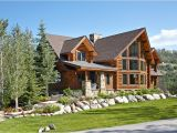 Contemporary Log Home Plans Charming Log Residence In Colorado Unveiling Spectacular