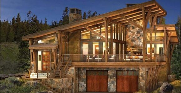 Contemporary Log Home Plans Modern Log and Timber Frame Homes and Plans by