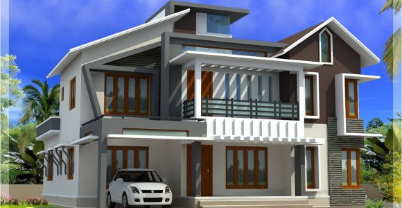 Contemporary Modern Home Plans Modern Contemporary Home In 2578 Sq Feet Kerala Home