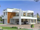 Contemporary Modern Home Plans Sq Feet Modern Contemporary Villa Square Feet Bedroom