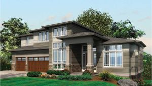Contemporary Prairie Home Plans Contemporary Prairie with Daylight Basement 69105am