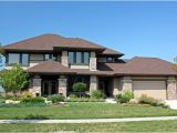 Contemporary Prairie Style Home Plans Contemporary Craftsman Prairie Style southwest House Plan