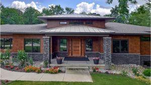 Contemporary Prairie Style Home Plans Modern Prairie Style House Plans 1045 Skyevale Ada Mi