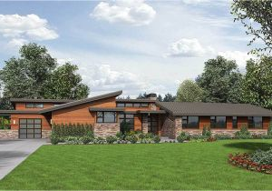 Contemporary Ranch Home Plans Stunning Contemporary Ranch Home Plan 69510am