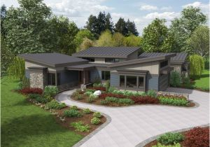 Contemporary Ranch Home Plans the Caprica Contemporary Ranch House Plan