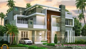 Contemporary Style Home Plans 4 Bedroom Contemporary Home Design Kerala Home Design
