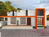 Contemporary Style Home Plans In Kerala 850 Sqft Budget Contemporary Style Home Design Kerala