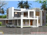 Contemporary Style Home Plans In Kerala Home Design Contemporary Kerala Villa Design and Plan