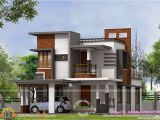 Contemporary Style Home Plans In Kerala Home Design Low Cost Contemporary House Kerala Home