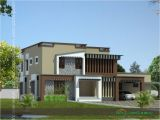 Contemporary Style Home Plans In Kerala Home Design Square Feet Modern Style Kerala House Design