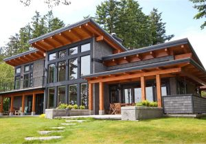 Contemporary Timber Frame Home Plans Modern Beachfront Timber Frame island Timber Frame