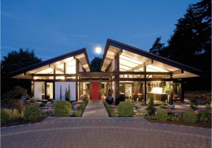 Contemporary Timber Frame Home Plans Modern Timber Framed Minimalist Bungalow House
