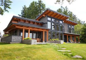 Contemporary Timber Frame Home Plans Timberframe Exterior Exterior Contemporary with orange