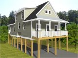 Costal House Plans Tiny House Plans On Pilings