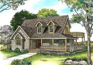 Cottage Home Plans Country Stone Cottage Home Plan 46036hc Architectural