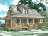 Cottage Home Plans with Porch Covered Porch Cottage 59153nd Architectural Designs