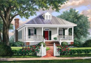 Cottage Homes Plans southern Cottage House Plan with Metal Roof 32623wp