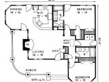 Country Home Floor Plan Traditional House Plan First Floor 095d 0005 From
