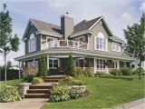 Country Home Plan Country Home House Plans with Porches Country House Wrap