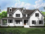 Country Home Plans forum 4 Bed Country House Plan with L Shaped Porch 500008vv
