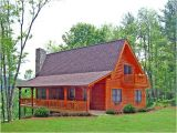 Country Log Home Plans Cabin Country Log House Plan 79505