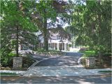 Courtyard Driveway House Plans Winchester Driveway and Courtyard Traditional