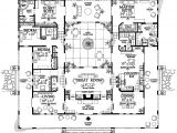 Courtyard Home Floor Plan An Interior Courtyard Plan Dream Floor Plans Pinterest