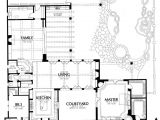 Courtyard Home Floor Plan Courtyard Wow This Floor Plan Rocks House Plans