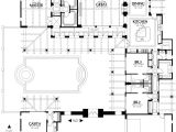 Courtyard Home Floor Plan Home Plans House Plan Courtyard Home Plan Santa Fe Style