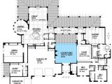 Courtyard Homes Plans Architectural Designs