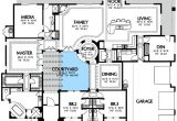 Courtyard Homes Plans Plan W16365md Center Courtyard Views E Architectural Design