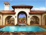 Courtyard Pool Home Plans Courtyard Pool Mediterranean Pool Austin by